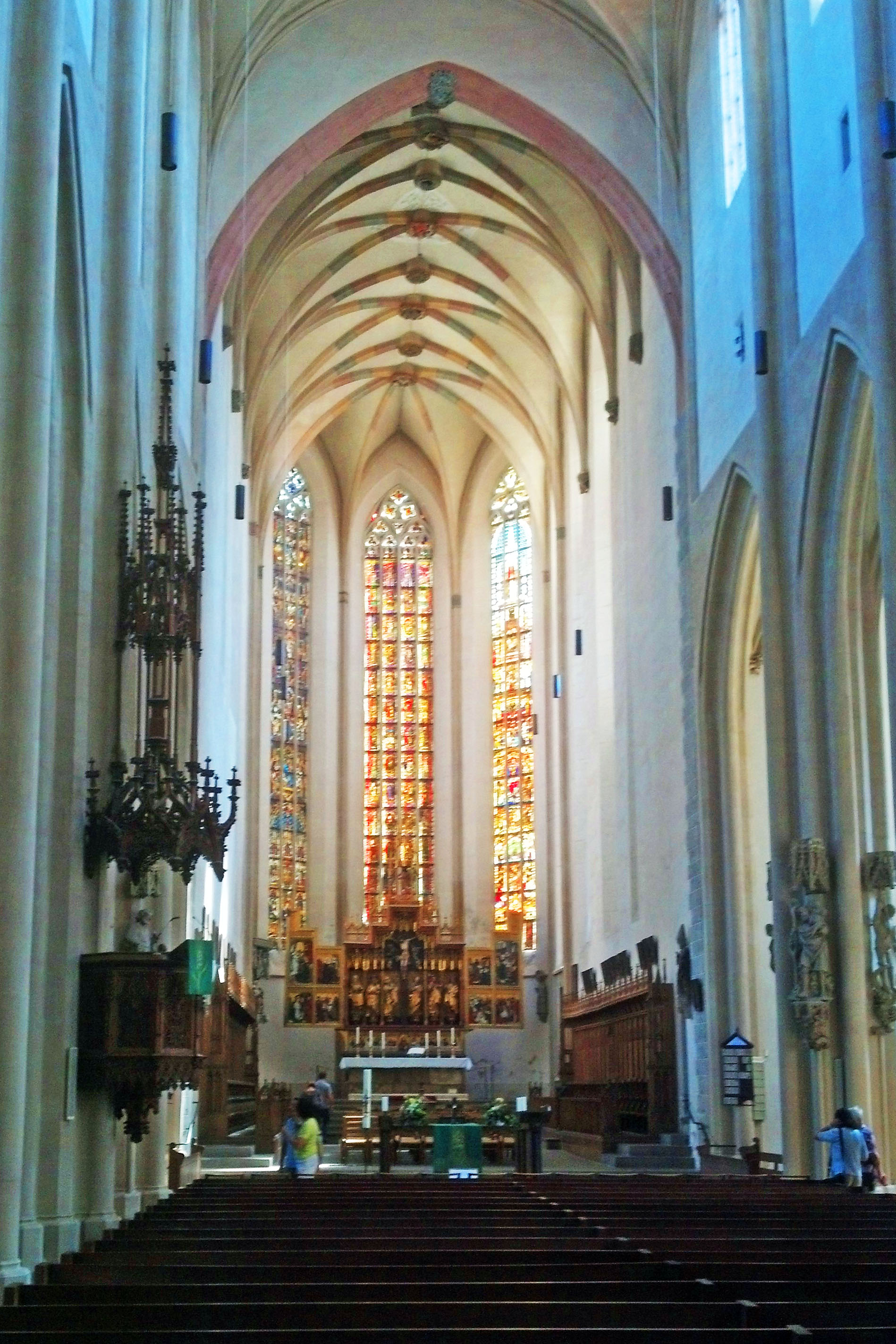 The high alter of St. Jacob's Church.