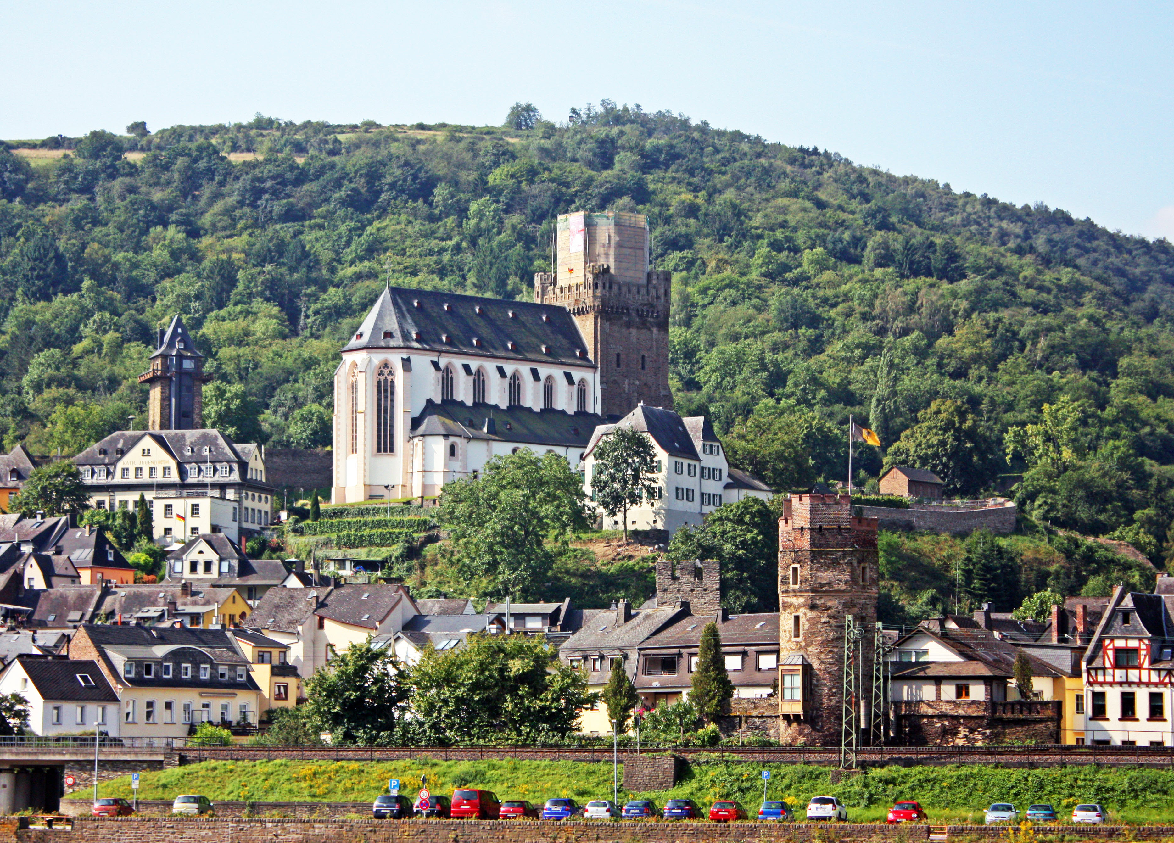 Another picturesque town along the Rhine.