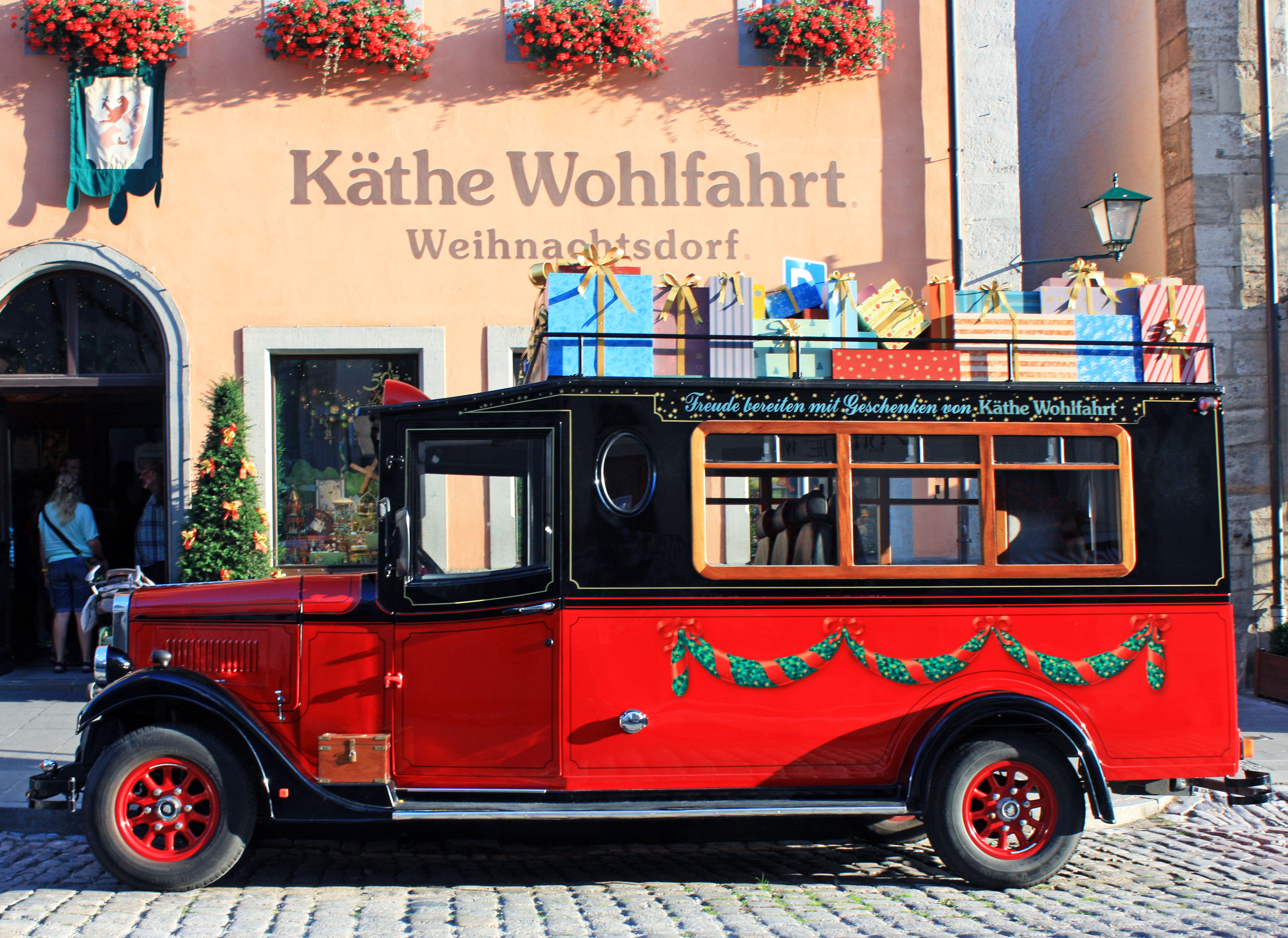 Kathe Wohlfahrt Christmas museum and store.