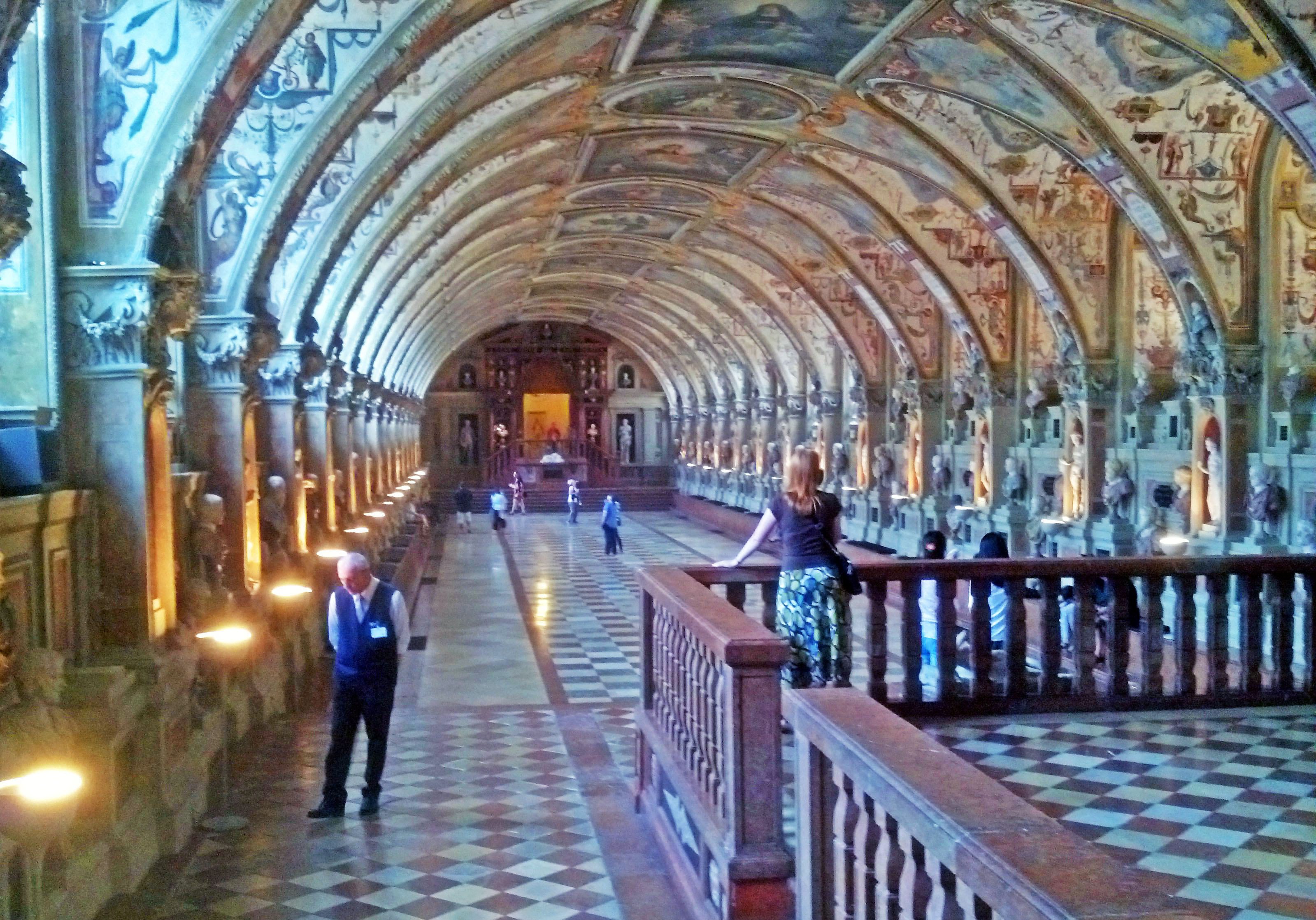 The sixty-six meter long Antiquarium.