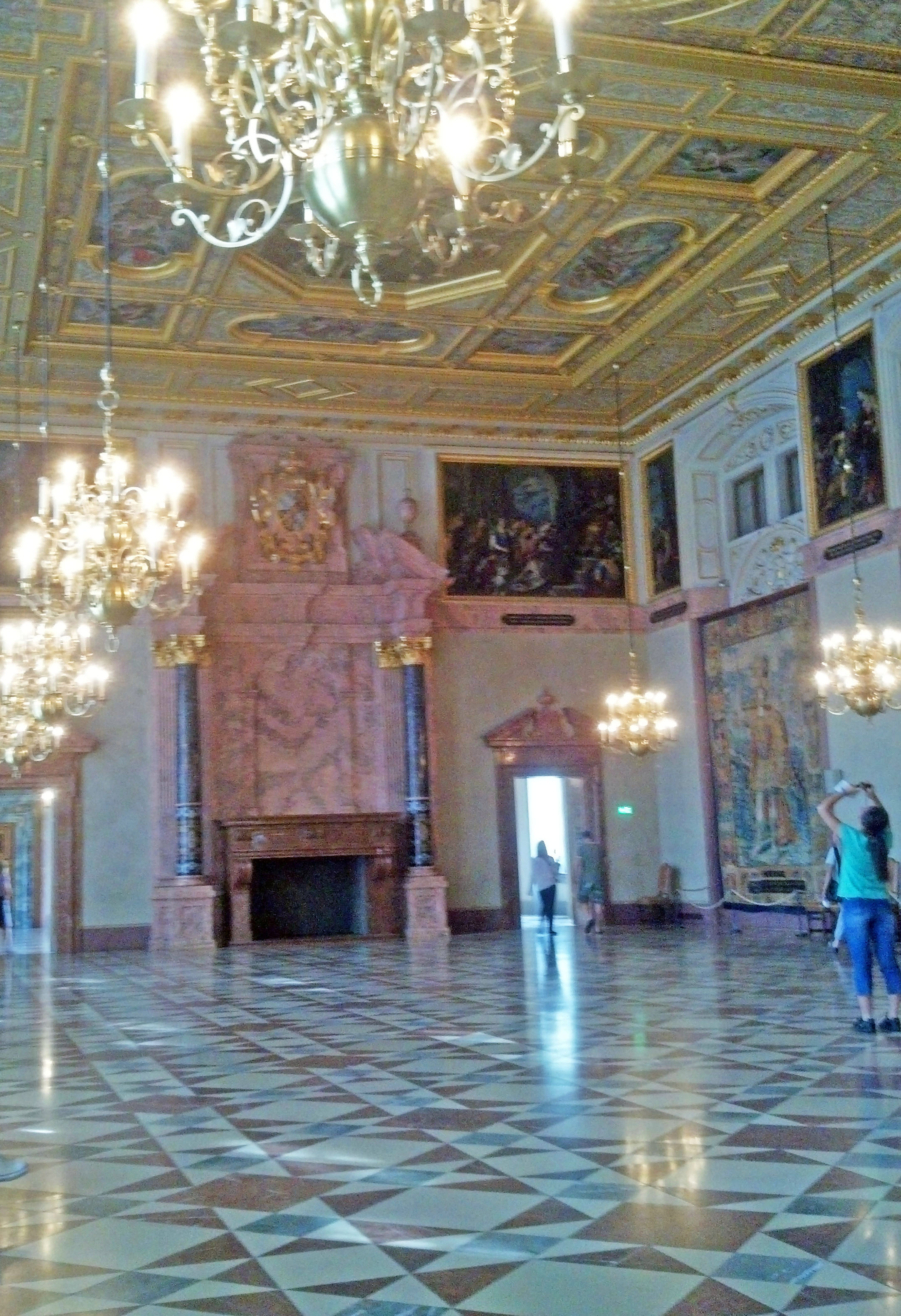 Imperial Hall in the Residenz.