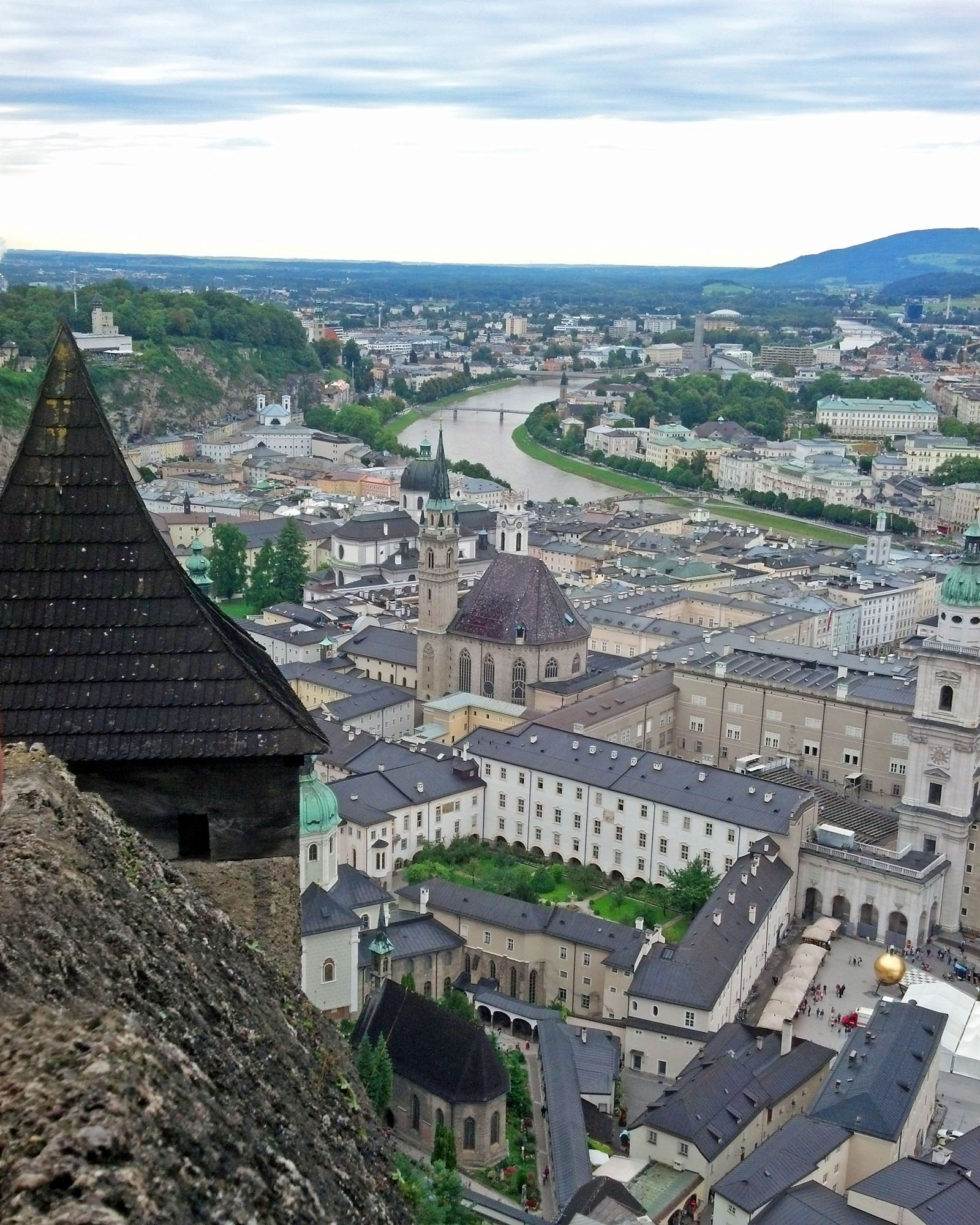 A view from the fortress tower.